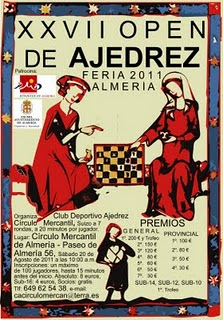 PREINSCRITOS OPEN DE FERIA DE ALMERIA