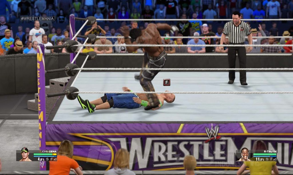 WWE 2K15 PC Game Full Crack Version Screenshot Gameplay - http://jembersantri.blogspot.com