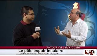 Léo Battesti interviewe Akkhavanh Vilaisarn, responsable de l'élite des échecs