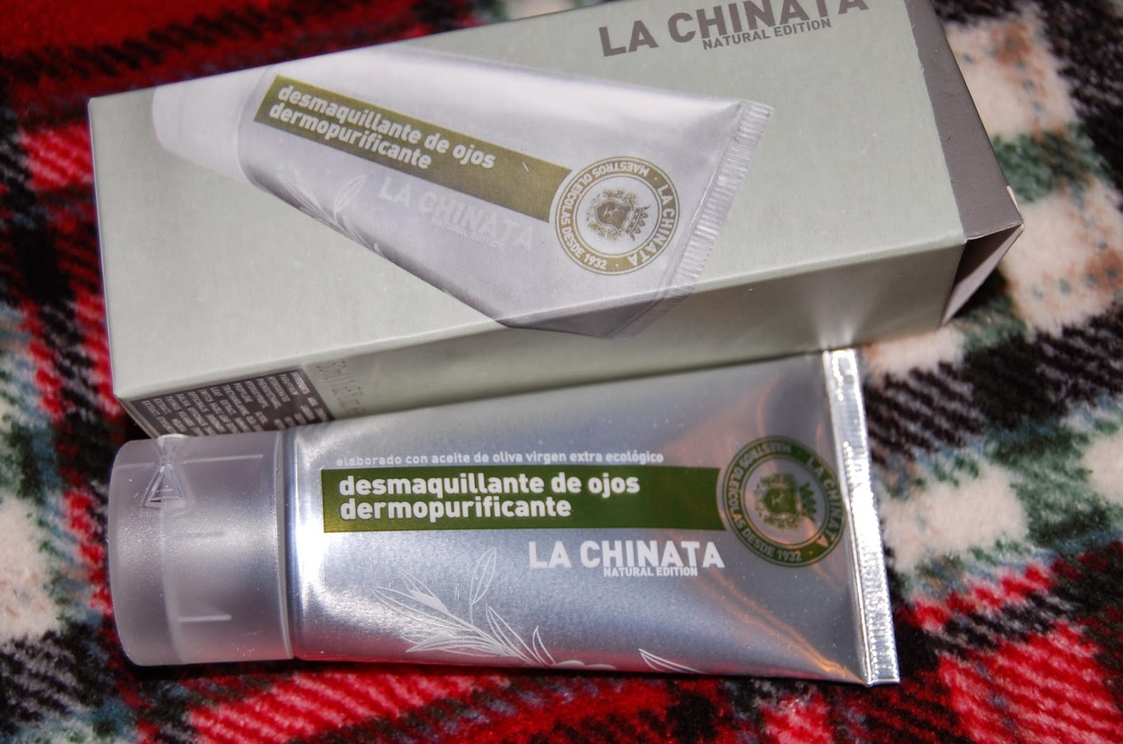 MUESTRAS PREMIUM - DESMAQUILLANTE OJOS LA CHINATA