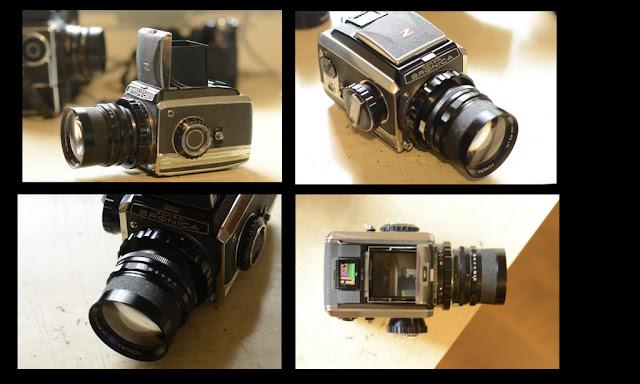 Zenza Bronica Medim format camera