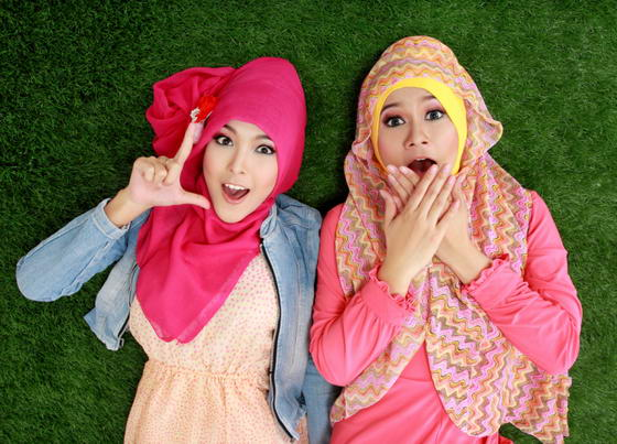 Model Jilbab Ala Blogger Indonesia
