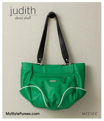 Miche Judith Demi Shell - Green Purse