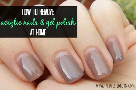 How To Remove Acrylic Nails Or Gel Polish At Home