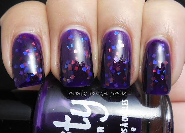 Verity Deep Violet with Daring Digits Guy Manuel
