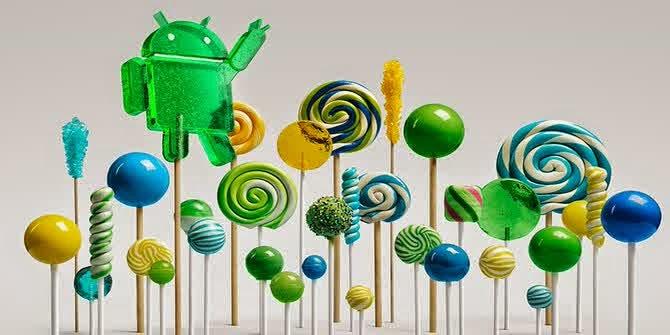 12 fitur baru Android Lollipop 5.1
