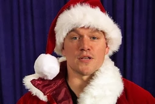 Matt Damon santa