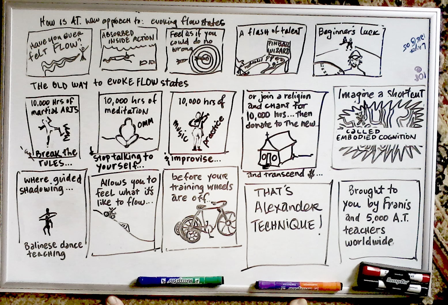 Franis Engel's Alexander Technique Story Board