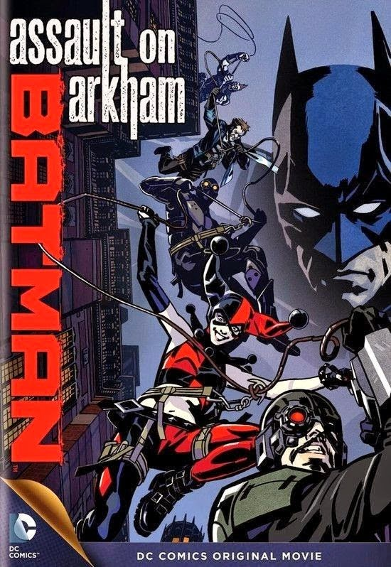 Filme Batman Assault On Arkham Legendado AVI WEBRip
