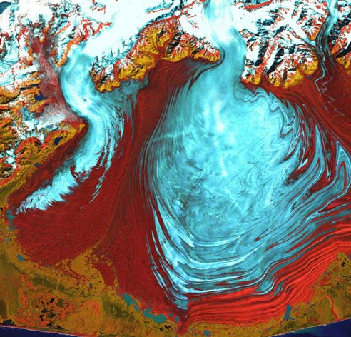 Malaspina, Gletser Alaska