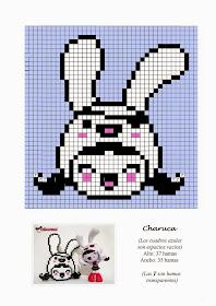 Charuca Hama Beads Pattern post by wememade