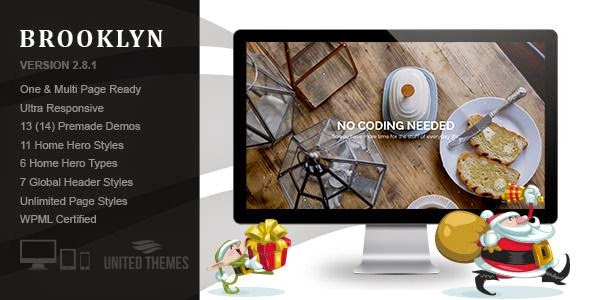 Creative One Page Multipurpose Theme 2015