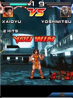 Nokia X2-01 Game Tekken Mobile