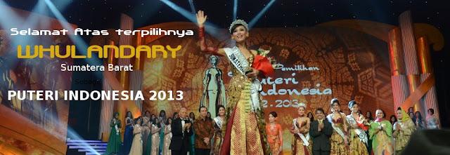 Profil Whulandary Herman, Putri Indonesia 2013