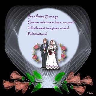 Felicitation de mariage - Texte felicitation mariage humour ...
