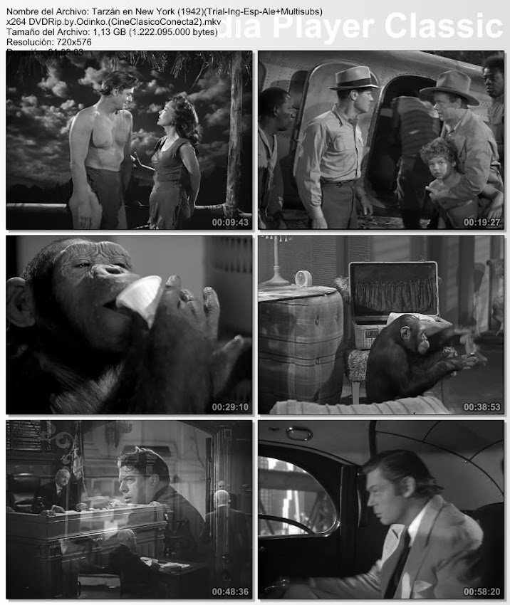 Tarzán en New York | 1942 | Tarzan's New York Adventure