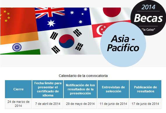 Becas de la Caixa para estudiar en Asia