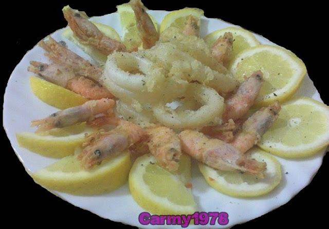 Frittura-di-gamberi-e-calamari