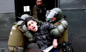 increíble. casi 600 estudiantes detenidos en Chile en ola de violencia y protestas masivas