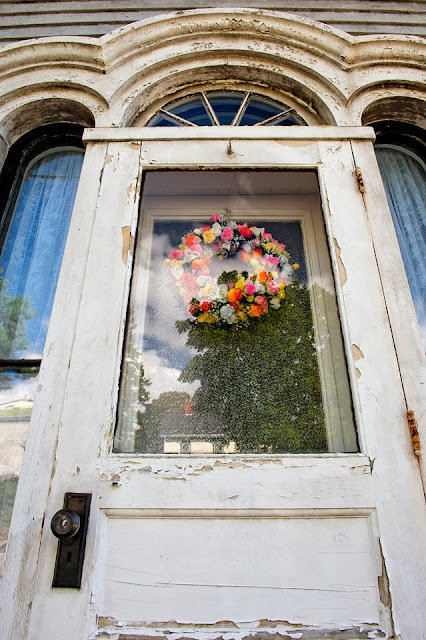 Nova Scotia; Lunenberg; Door: Wreath