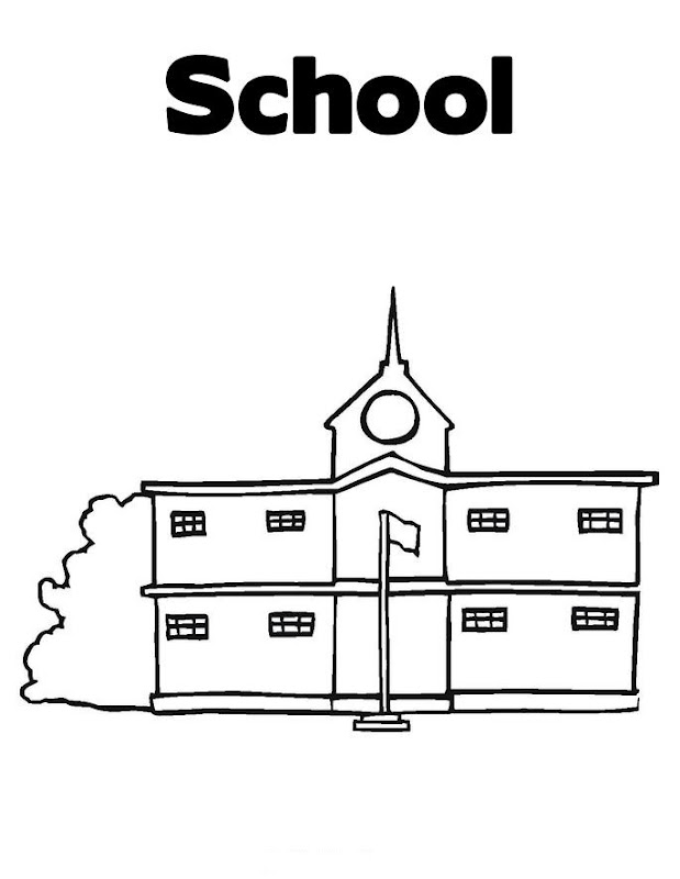 School Coloring title=