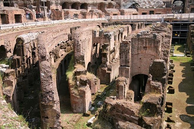 Underground passageways of the Colosseum