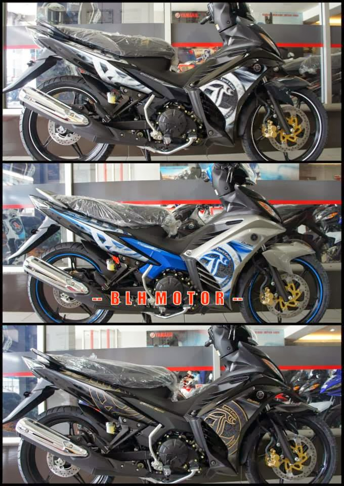 Yamaha 135LC Extreme Spirit Dan SuperSport 2014   Gambar Dan Specs