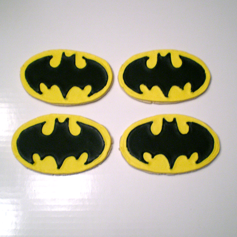 Batman cookies artility confectionery creations batman cookies buycottarizona