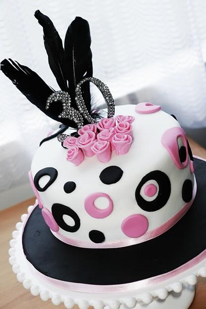 Cake Design 30th Birthday : baking with love: 30th Birthday Cake