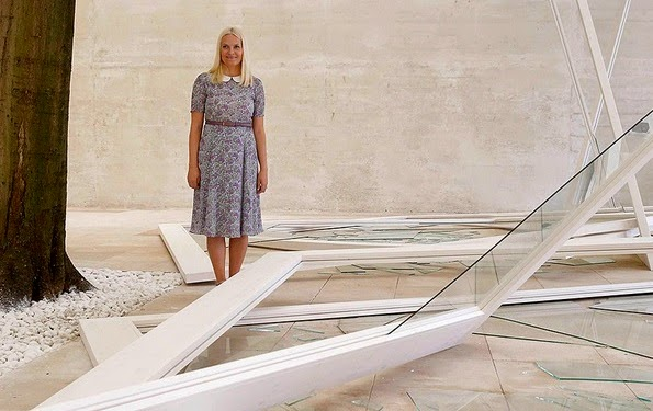 Princess Mette-Marit Attends Opening Of The 56th International Art Exhibition