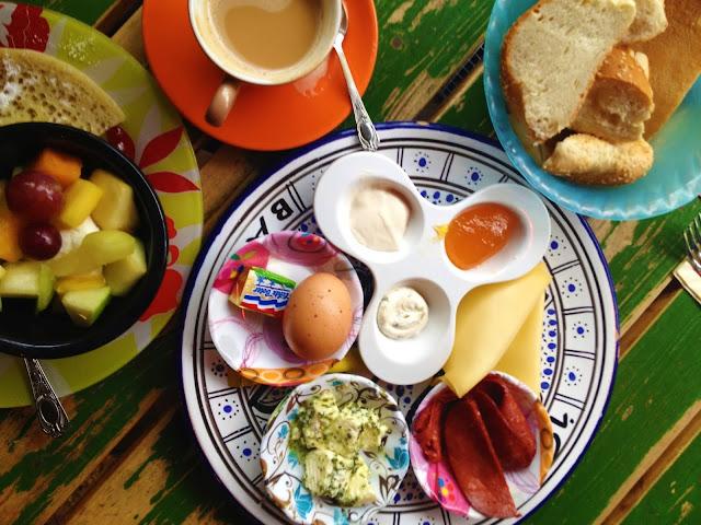 Breakfast at Hotel Bazar