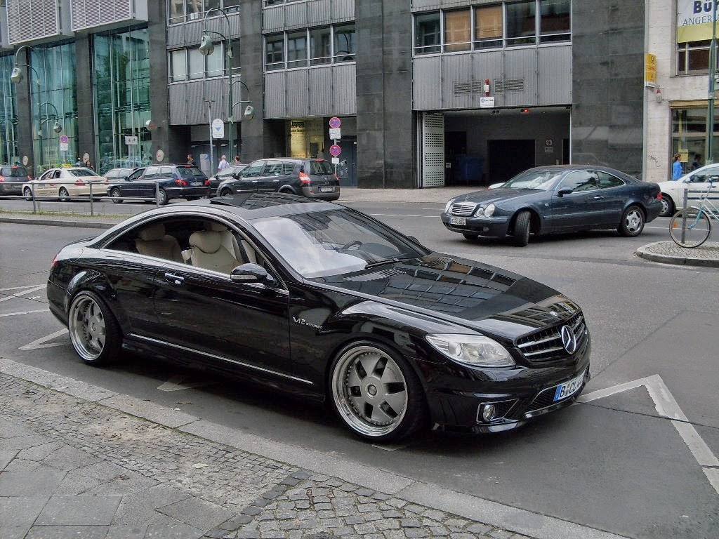 Mercedes benz c216 cl63 amg on mae wheels benztuning for Mercedes benz cl63