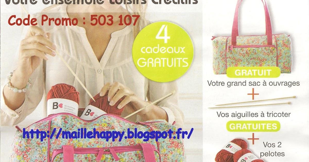 Maille happy 4 cadeaux gratuits offerts par blanche porte - Code avantage blanche porte ...