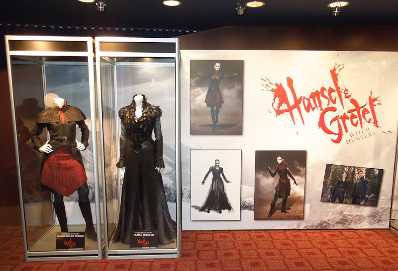 Hansel Gretel Witch Hunters costume exhibit