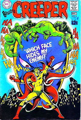 Beware the Creeper v1 #4 dc comic book cover art by Steve Ditko