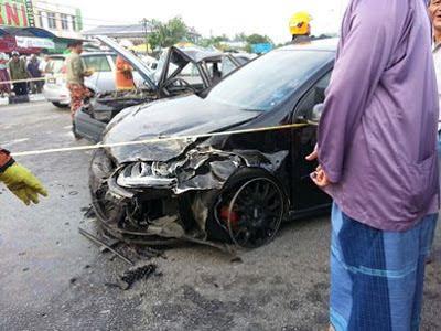 Ustaz Azhar Idrus (UAI) Kemalangan.