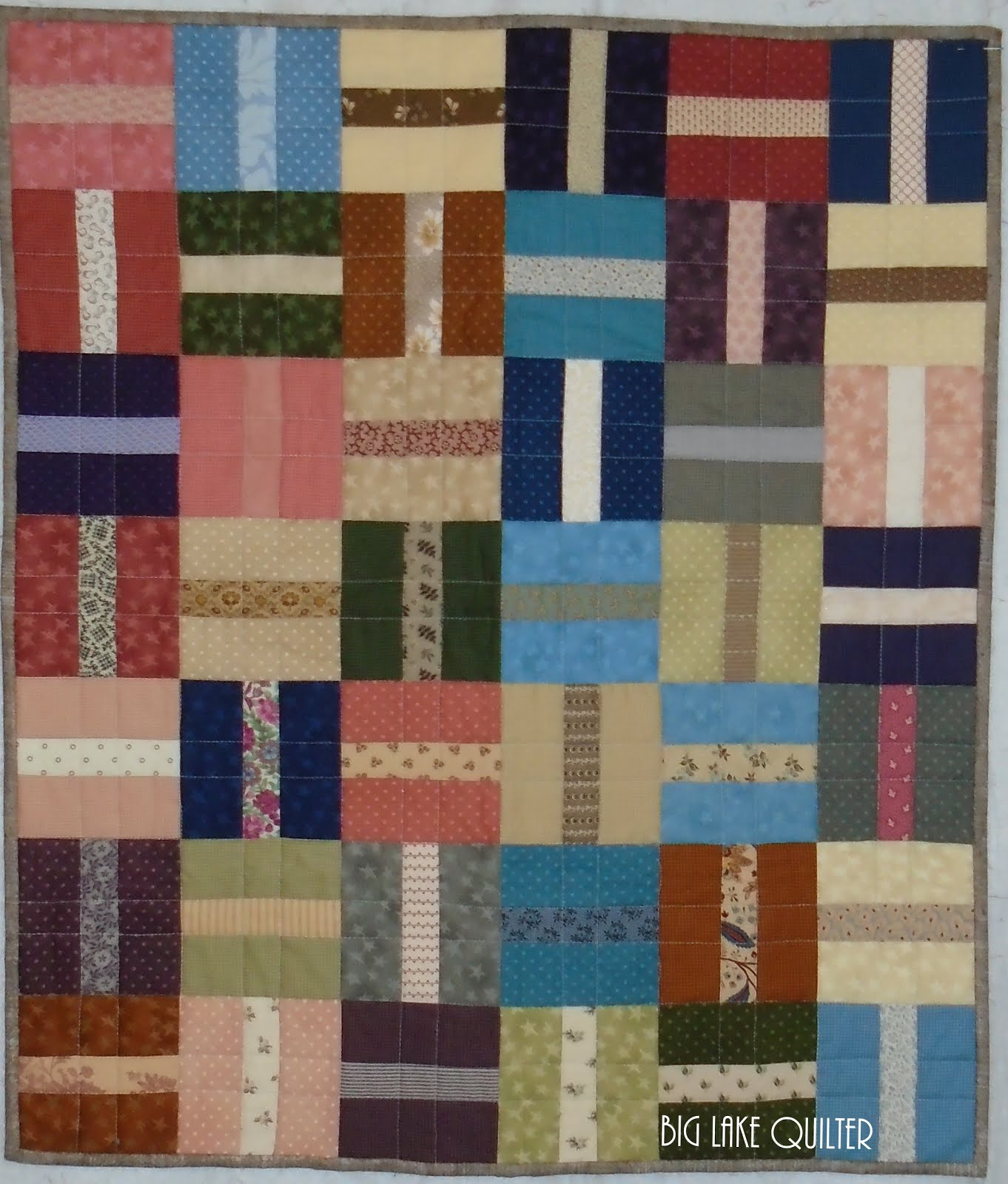 Split Square Table Quilt