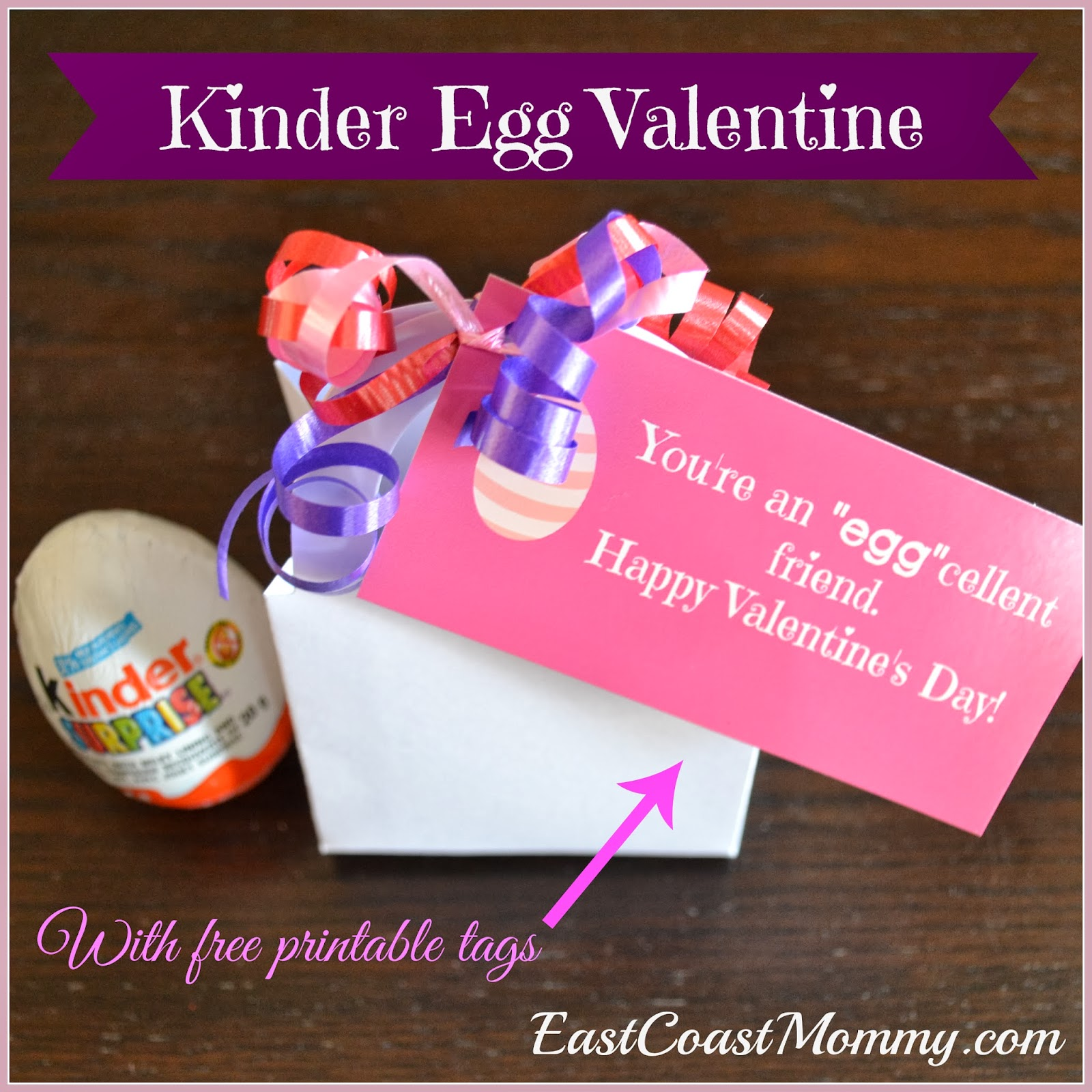 East Coast Mommy: Kinder Valentines... and a chance to win