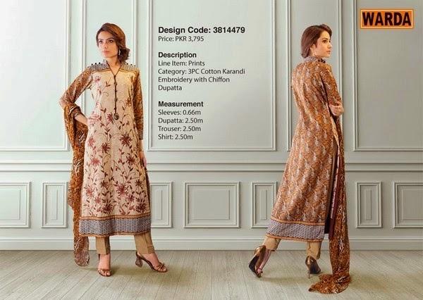 Warda Fall Winter Grace Dresses 2014