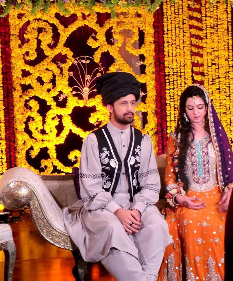 Picture Quotes 2 Share Atif Aslam Amp Sarah Bharwana Wedding Full Pictures