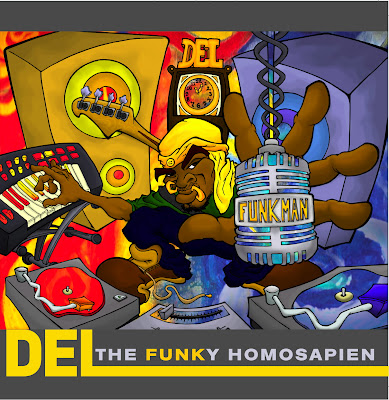Del The Funky Homosapien – Funk Man (The Stimulus Package) (CD) (2009) (FLAC + 320 kbps)