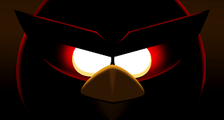 Angry Birds Space New Game Bird with Huge Eyes Wallpaper
