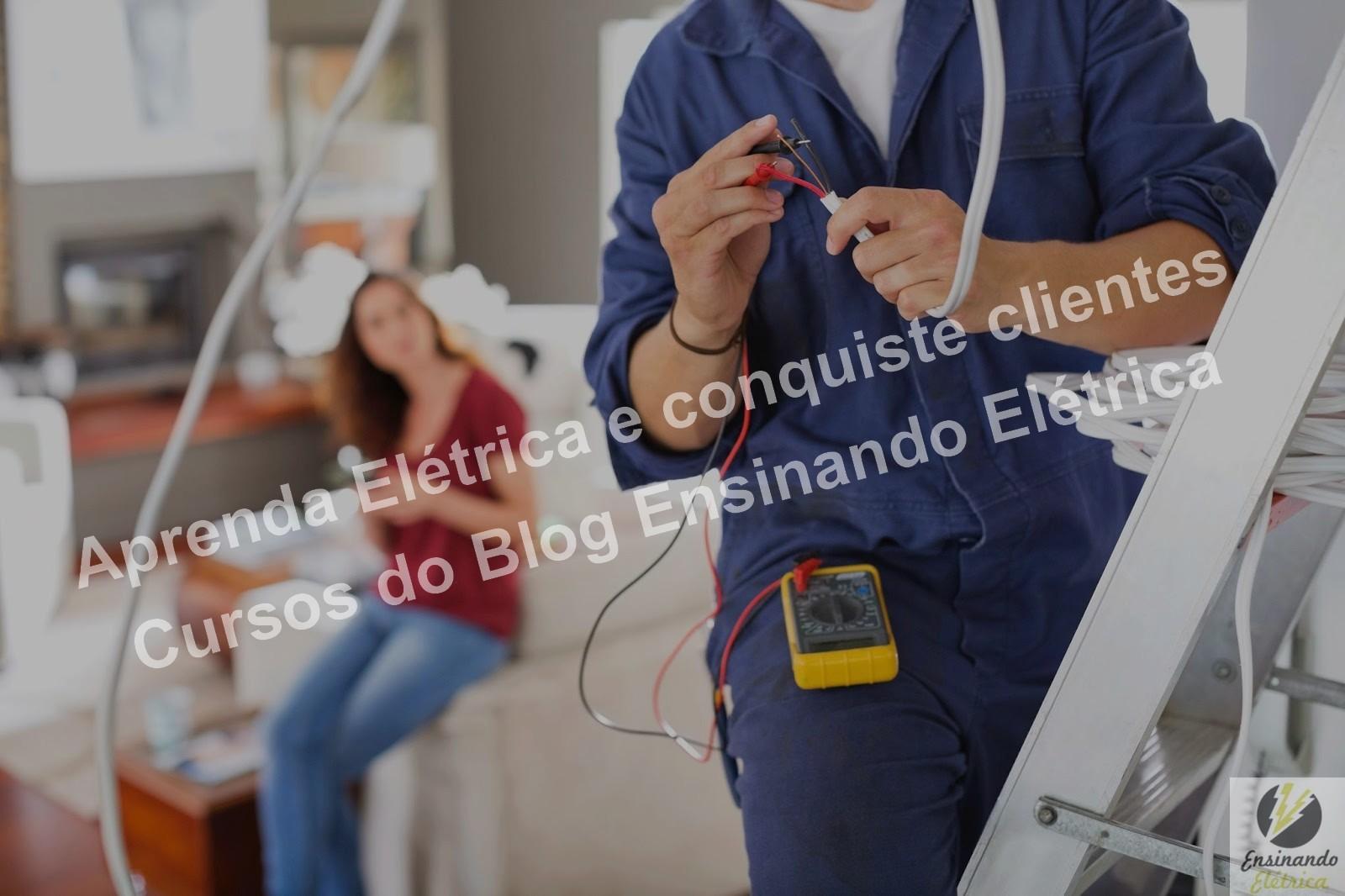 Se você é um principiante em elétrica recomendamos o curso para eletricista iniciantes.