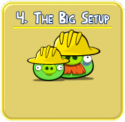 the+big+setup Solucin de niveles en Angry Birds