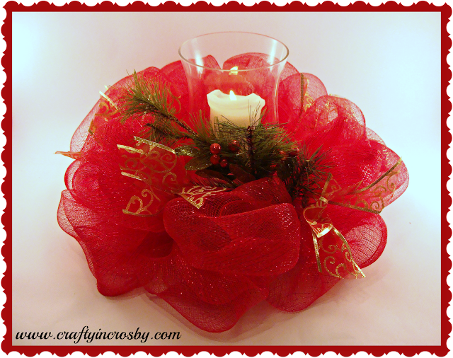 Christmas Decor, Candleholder