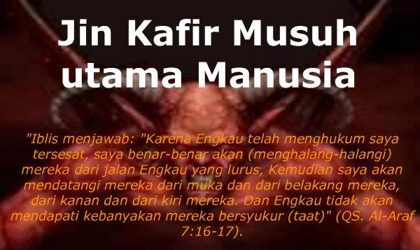 Cara Mengusir Jin Menurut Islam