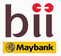 Logo Bank Internasional Indonesia (BII-Maybank)