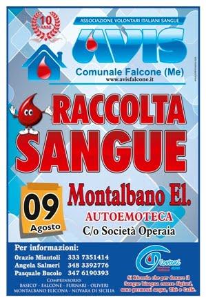 """DOMENICA 9 AGOSTO A MONTALBANO PRESSO """"AUTOEMOTECA"""" IN PIAZZA MARIA SS. DELLA PROVVIDENZA."""