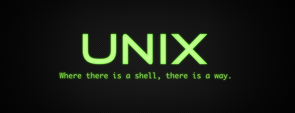 Welcome to the World of UNIX