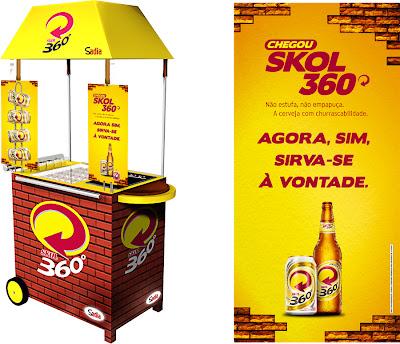 NewStyle e Skol 360° promovem 'churrascabilidade' no PDV